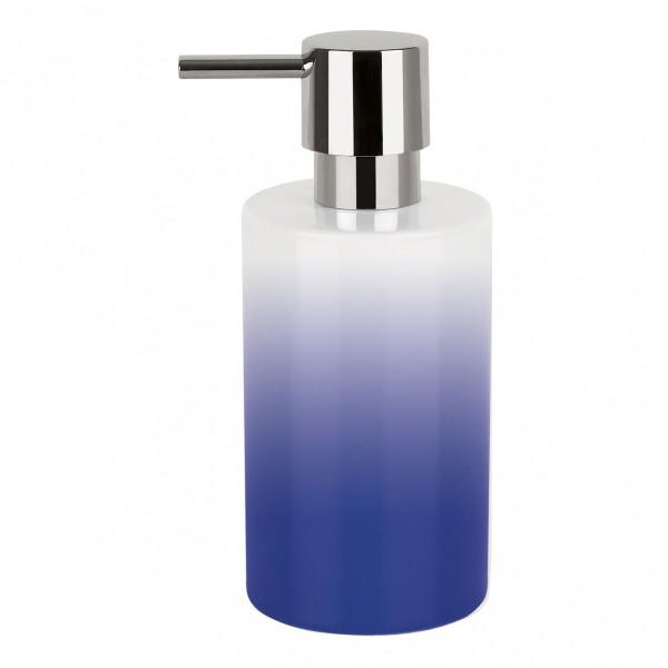 Seifenspender Tube-Gradient - Blau/Weiß