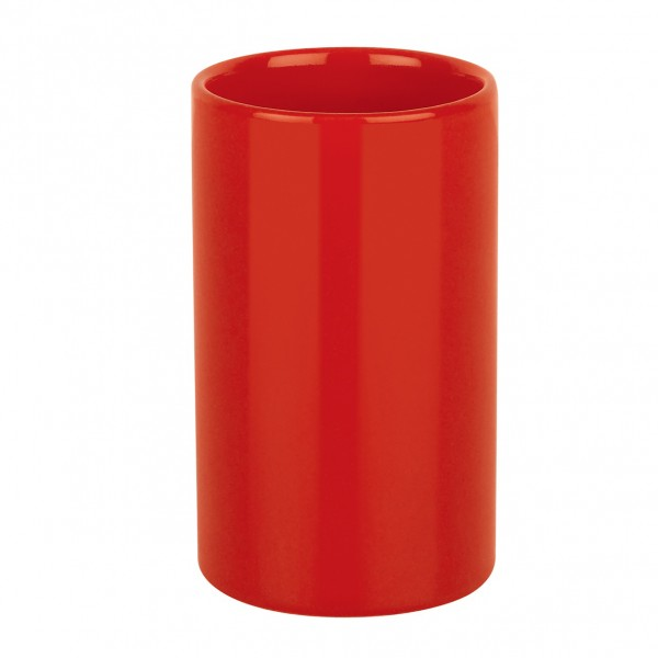 Zahnputzbecher Tube - Rot
