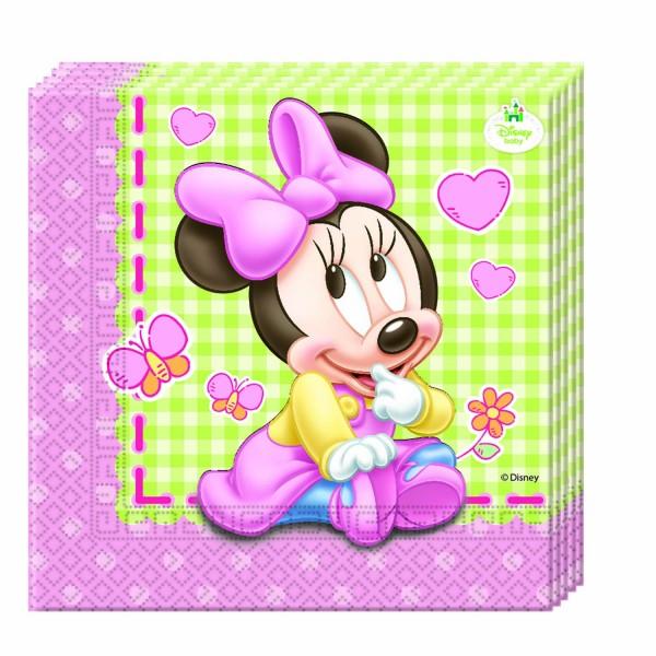 Servietten Baby Mickey 20 Stück 33 x 33cm