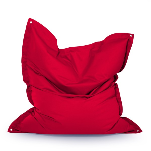 Outbag - Outdoor Sitzsack - Sitzkissen Meadow - Bezug Plus Rot - wetterfest