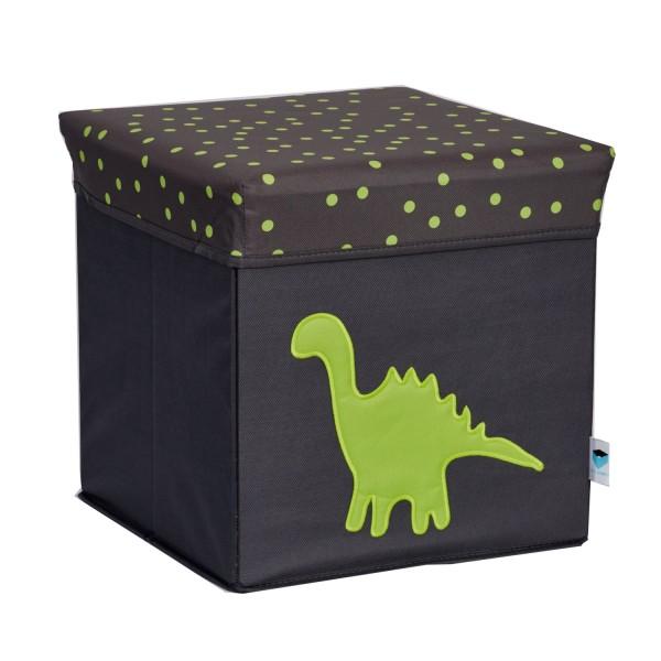 Pico Mundo - Sitzhocker Dinosaurier - grau grün