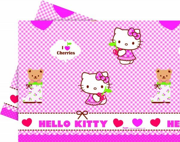 Tischdecke Hello Kitty 120 x 180 cm