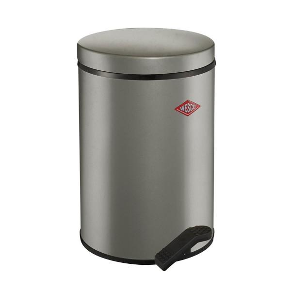 Wesco Abfallsammler - 13 Liter - Neusilber