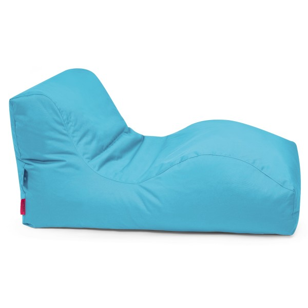 Outbag - Outdoor Sitzsack - Liegesack Wave - Bezug Plus Aqua - wetterfest