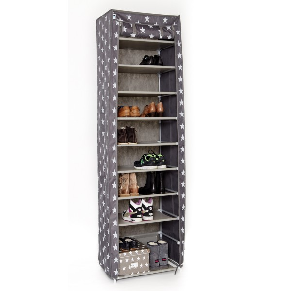 store it urban stars schuhschrank gro grau mit sternen m bel stellbrink. Black Bedroom Furniture Sets. Home Design Ideas