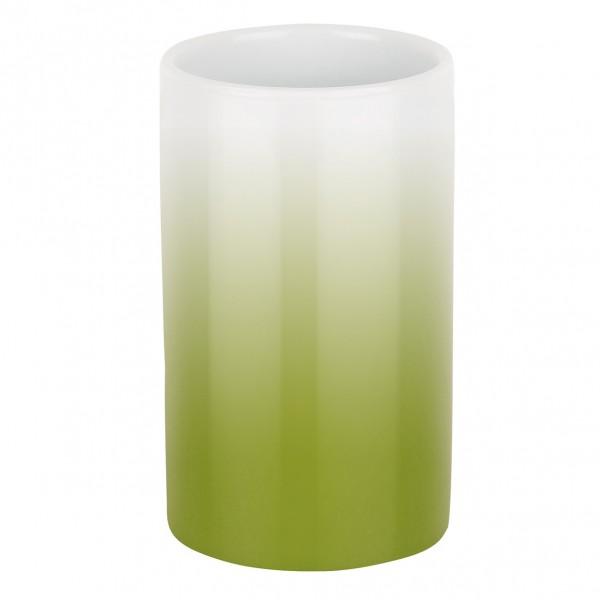 Zahnputzbecher Tube-Gradient - lime