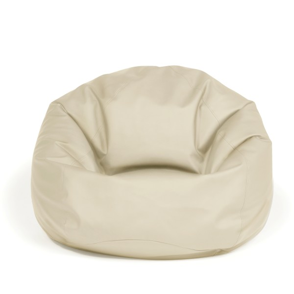 Pushbag - Sitzsack Bag 300 - Bezug Kunstleder in Beige - 70cm