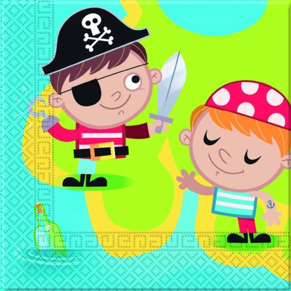 Servietten Piraten 20 Stück